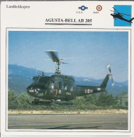 Helikopter.- Augusta-Bell AB 205 -. USA - Italië. 2 Scans - Helikopters