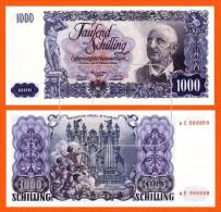 Austrija 1000 Schilling 1954.  (R030)   REPRODUCTION - Oesterreich