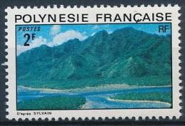 Polynesie, 1974, Landscapes, Mountains, Lagoon, MNH, Michel 178, French Polynesia - Polynésie Française