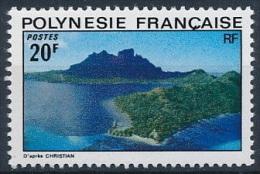 Polynesie, 1974, Landscapes, Nature Reserve, MNH, Michel 183, French Polynesia - Polynésie Française