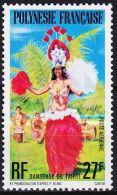 Polynesie, 1977, Folklore, Folk, Dance, MNH, Michel 238, French Polynesia - Polynésie Française