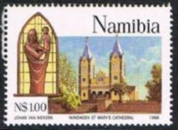 Namibia SG683 1996 Centenary Of Catholic Missions In Namibia $1 Unmounted Mint - Namibia (1990- ...)