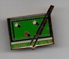 890 I ) PIN'S BILLARD - CHAMPIONAT DE FRANCE - Billard