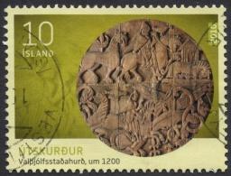 Iceland, 10 K. 2010, Mi # 1263, Used. - Oblitérés