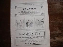 - 95 - CATALOGUE PUBLICITAIRE De 34 Pages  Sur ENGHEIN Et Autres Lieux 360mm X 270mm 1912 - Publicité
