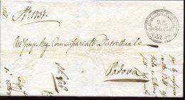 4730 Italia,  Prefilatelica 1841  Da Amministrazione Ospedale Civile Di Padova - ...-1850 Préphilatélie