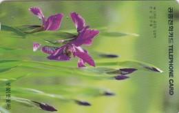 Korea, MO9704109, Flowers, Iris, 2 Scans. - Corea Del Sud