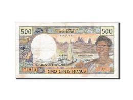 Nouvelle-Calédonie, 500 Francs, 1969, Undated (1969-1992), KM:60d, TTB - Nouvelle-Calédonie 1873-1985