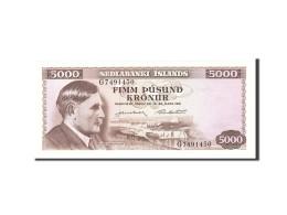 Iceland, 5000 Kronur, 1961, KM:47a, 1961-03-29, NEUF - Islande