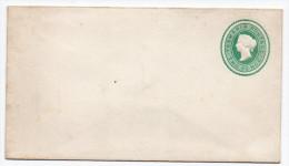 Tasmanien 1883: Two Pence Green  Unused Stationary Cover; Ascher No. 1 - Briefe U. Dokumente
