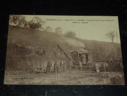 NOGARO - USINE P.L.LARTIGUE - EXPLOITATION DES CARRIERES PELLE à VAPEUR - BELLE CARTE - 32 GERS (N) - Nogaro