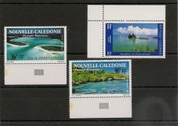 NOUVELLE CALÉDONIE Année 1989/91 Paysages P.A. N°Y/T :263-276-277** BDF - Poste Aérienne