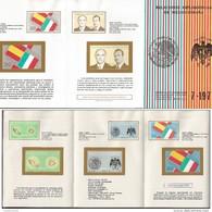 RJ) 1977 MEXICO, RESUMPTION OF DIPLOMATIC RELATIONS SPAIN-MEXICO, JOSE LOPEZ PORTILLO, JUAN CARLOS I, FDB - Mexico