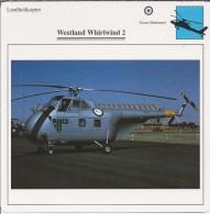 Helikopter.- Westland Whirlwind 2 - Groot-Brittannië. Engeland. 2 Scans - Helikopters
