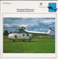 Helikopter.- Westland Whirlwind - Groot-Brittannië. Engeland. 2 Scans - Helikopters