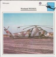 Helikopter.- Westland WESSEX - Groot-Brittannië. Engeland. 2 Scans - Helikopters