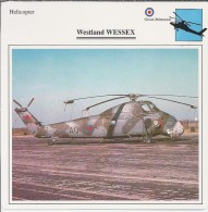 Helikopter.- Westland WESSEX - Groot-Brittannië. Engeland. 2 Scans - Hélicoptères