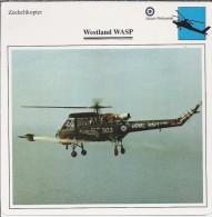 Helikopter.- Westland WASP - Groot-Brittannië. Engeland. 2 Scans - Helikopters