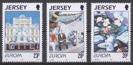 Jersey 1993 Mi# 612-14** EUROPA CEPT, CONTEMPORARY ART - Jersey