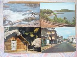 6 Cartes Postales Différentes - Guyane