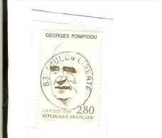 France-Oblitére N°2875YT/1994 : Georges Pompidou - France