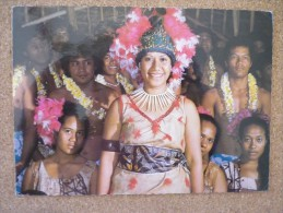 4 Cartes Différentes - Samoa Américaine