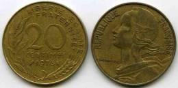 France 20 Centimes 1973 GAD 332 KM 930 - France