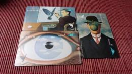 SET R�ne Magritte Art 3 Cards Used Rare