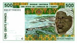 West African States - Afrique De L´ouest Burkina Faso 2002 Billet 500 Francs Pick 310 M Neuf 1er Choix UNC - Burkina Faso