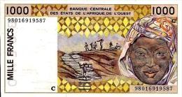 West African States - Afrique De L´ouest Burkina Faso 1998 Billet 1000 Francs Pick 311 I Neuf 1er Choix UNC - Burkina Faso
