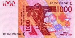 West African States - Afrique De L´ouest Burkina Faso 2003 Billet 1000 Francs Pick 315 A Neuf 1er Choix UNC - Burkina Faso