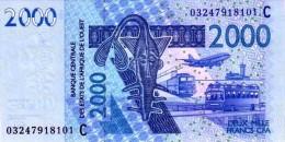 West African States - Afrique De L´ouest Burkina Faso 2003 Billet 2000 Francs Pick 316 A Neuf 1er Choix UNC - Burkina Faso