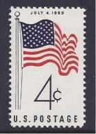HISTORIA/INDEPENDENCIA ESTADOS UNIDOS 1960 - Yvert#688 - Independecia USA