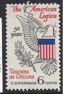 HISTORIA - ESTADOS UNIDOS 1969 - Yvert#872 - Independecia USA