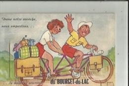 Bourget-du-Lac  73_  (Carte A Systeme_ Dans La Sacoche. Emportons.un Bon Souvenir.Alors Soulevez La Sacoche Avec  Vues - Frankrijk