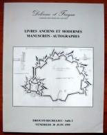 Livres Anciens Et Modernes - Manuscrits - Autographes - 1995 - Non Classés