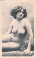 NUS-NU-NUDI-NUDE-NAKED WOMAN-NACTE FRAU-MUJER NUDA-Très-bien Conservée-ORIGINALE 100%-2 SCAN- - Fine Nudes (adults < 1960)