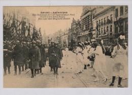 Antwerpen 21 Juli 1919 Vaderlands Feest - Eer Aan Onze Belgische Helden - Weltkrieg 1914-18