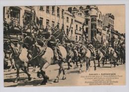 Antwerpen 21 Juni 1917 [wellicht Foutief In Plaats Van 21 Juli 1919] Vaderlands Feest -Natiepaarden - Weltkrieg 1914-18