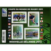 France Feuillet N°4576 Coupe Du Monde De Rugby En Nouvelle-Zélande - Blocs & Feuillets