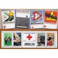 France Feuillet N°4621 Au Profit De La Croix-Rouge. Le Bénévolat - Blocs & Feuillets