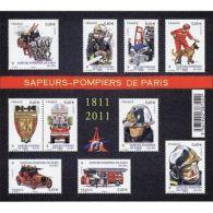 France Feuillet N°4582 Bicentenaire De La Brigade Des Sapeurs-pompiers De Paris - Sheetlets