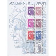 France Feuillet N°4614 Marianne Et L'Europe - Sheetlets