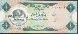 U.A.E.   P1   1   DIRHAM   1973  XF-AU  But  Writings ! ! - Emirats Arabes Unis