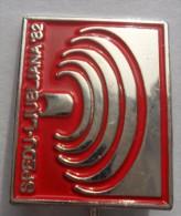 Weightlifting SPEDU 1982 Ljubljana 36th World Weightlifting Championship  PINS BADGES  P1 - Weightlifting