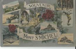 50 Le Mont Saint Michel   Souvenir - Le Mont Saint Michel