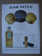 """Publicité Ad 1953 """" Parfum JEAN PATOU """" - Advertising"""