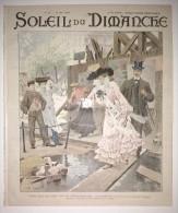 Soleil Du Dimanche Du 31/05/1903 - Paris Boulversé Par Le Métropolitain - Reine Du Portugal - Metz  - Indo-Chine : Laos - 1900 - 1949