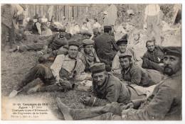 """"""" Campagne De 1914 - AGEN - Quelques Types D'Allemands Des Régiments De La Garde """"TRES RARE ! - Guerre 1914-18"""