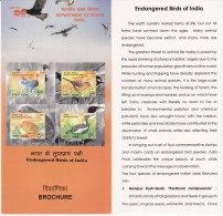 Information On  Endangered Birds, Bird, Quil, Florican, Stork, Laughingthrush,  India 2006 - Storks & Long-legged Wading Birds
